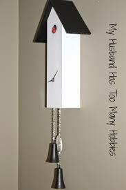 Modern Coo Coo Clock Diy Simpleline Cuckoo Clock Knockoff My Husband Has Too Many Hobbies