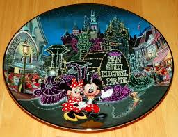 40th anniversary plate collector plate from disneyland s 40th anniversary series issue 9