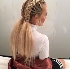 pintrest hair easy plait hairstyles for long hair best 25 sport hairstyles ideas