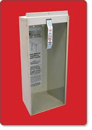 surface mount fire extinguisher cabinets kidde 468041 potter roemer surface mount 5 pound fire extinguisher