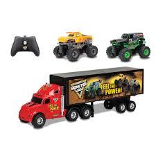 monster truck show springfield mo new bright monster jam r c truck carrier set