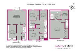 estate agent floor plans property for sale newlands way cholsey james gesner estate