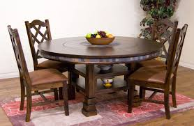 Inch Round Pedestal Dining Table Large Size Of Dining Pedestal - 60 inch round dining table with lazy susan