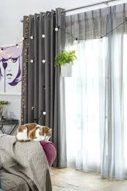 Installing Curtain Rod Command Hooks Walmart Living Sheer Window Treatment Ideas Hang