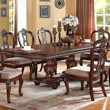 Espresso Pedestal Dining Table Double Pedestal Dining Table U2013 Ufc200live Co