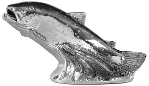 sterling silver trout large