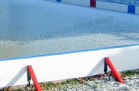 Ice Skating Rink Backyard by Ice Rinks Ice Rink Liners U0026 Hockey Rinks Ultimate Backyard Ice Rink