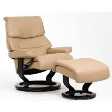Leather Reclining Chairs Stressless Capri Cori Leather Reclining Chair With Classic Base