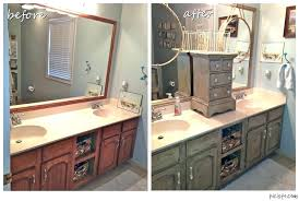 painting bathroom cabinets with chalk paint painting a bathroom vanity white distressed kitchen black chalk