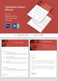 51 teacher resume templates u2013 free sample example format