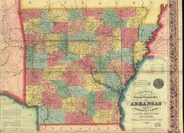 State Of Arkansas Map by Maps U0026 Census