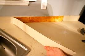 how to remove old laminate countertops u0026 backsplash without