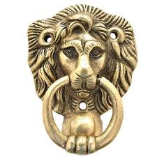 lion door knocker brass majestic lion door knocker door knob recordler instruments