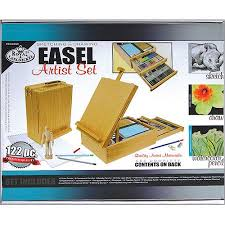 easel artist set sketching u0026 drawing walmart com