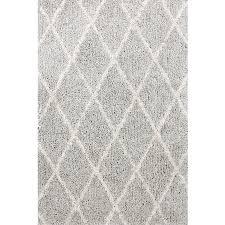 Gray And White Area Rug Interior Rectangular Gray And White Shag Area Rug For