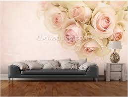 papier peint romantique chambre personnalisé floral papier peint romantique blanc 3d photo