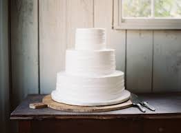 plain wedding cakes rustic wedding plain white cake once wed simple weddings