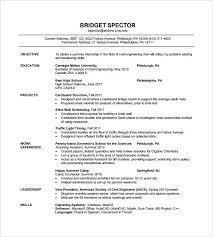 sample resume for network engineer fresher civil engineer resume
