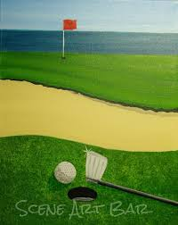Courses For Painting And Decorating Best 25 Golf Painting Ideas On Pinterest Modern Artwork Golf