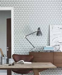 Schreibtische B O G Stig Skandinavische Tapeten Muster Scandinavian Wallpaper Wohnen