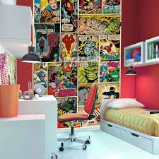 bedrooms awesome comic book bedding marvel decorating ideas boys
