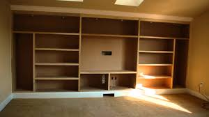 Free Built In Bookcase Woodworking Plans by Wall Units How To Build Built In Entertainment Center How To