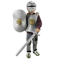 halloween children kids knight gladiator dress up costume armor