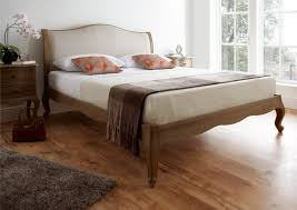 Oak Bed Frame Amelia Oak Bed Frame Lfe Inspiration Collection
