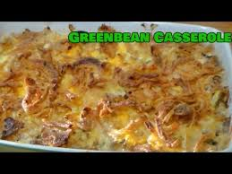 how to make green bean casserole thanksgiving side dish recipe