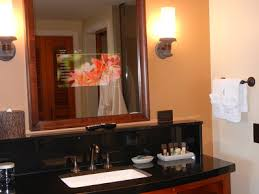 Tv In Mirror Bathroom by Aulani Resort Rooms And Amenities