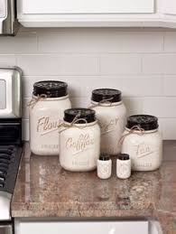 country kitchen canisters ivory and black kitchen canisters set of 4 kirklands for my