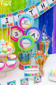 Rainbow Party Decorations 89 Best Party Rainbow Party Printable Images On Pinterest