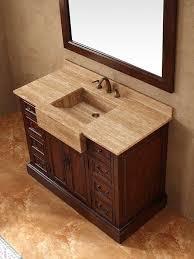 integrated sink vanity top awesome wonderful 48 inch bathroom vanity with granite top for