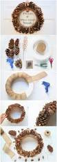 the 25 best pine cone wreath ideas on pinterest pinecone pine