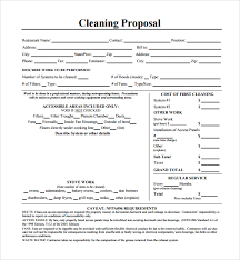 sample cleaning proposal template this template has been provided