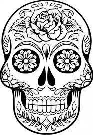 images of coloring pages unique skull coloring pages for adults sugar 2434