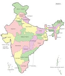 Ancient India Map Worksheet by Indian States Outline Map