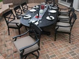 the big great 8 person cast aluminium patio outdoor furniture