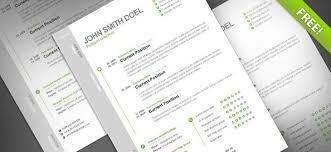 cv resume free psd template free psd files