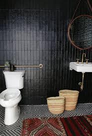 Colorful Bathroom Tile Best 25 Dark Bathrooms Ideas On Pinterest Slate Effect Tiles