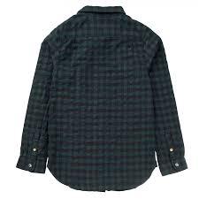 scotch and soda black check shirt shirts boys
