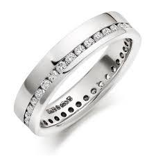 platinum wedding rings for her wedding corners