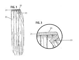 Skin Weft Seamless Hair Extensions by Patent Us20130133680 Hair Extension System And Method Google
