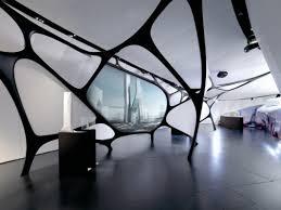 zaha hadid interior zumtobel lighting at zaha hadid exhibition design middle east