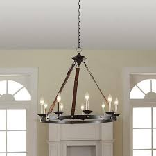 Leather Chandelier Williams Sonoma Equestrian Leather Tack Chandelier Copycatchic