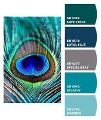 peacock inspired color scheme inspiration for future bliss