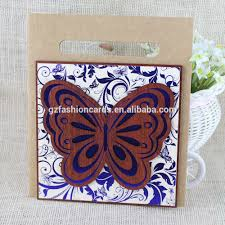 Latest Invitation Cards Unique 2016 Butterfly Shape Wooden Wedding Invitation Card With