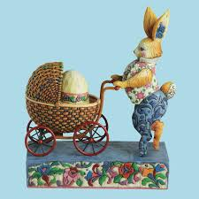 jim shore easter baskets jim shore easter bunny pushing stroller figurine 4001851 jim