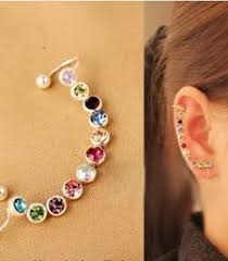 ear cuffs online shopping buy hot selling fashion personality color ear cuffs no
