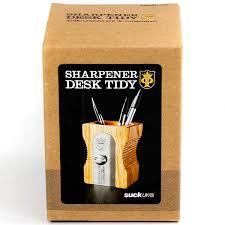 amazon com uk pencil sharpener desk tidy natural pencil